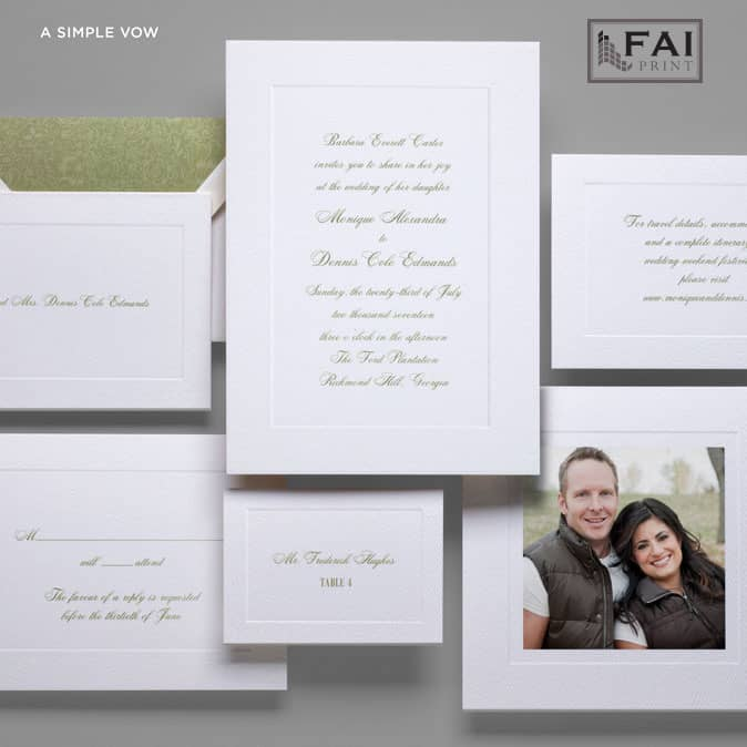 FAI Print | A Simple Vow