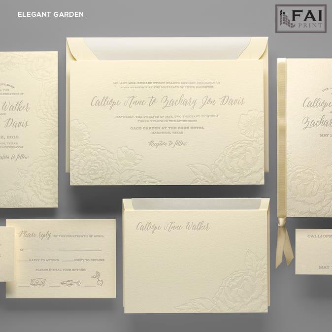FAI Print | Elegant Garden