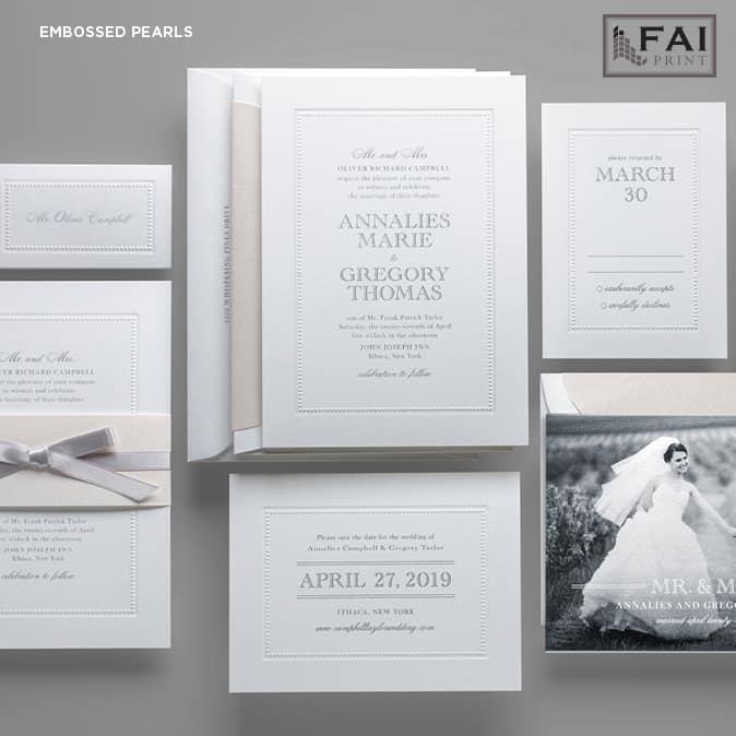 FAI Print | Embossed Pearls
