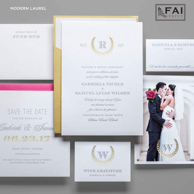 FAI Print | Modern Laurel