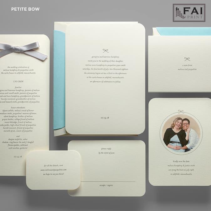 FAI Print | Petite Bow
