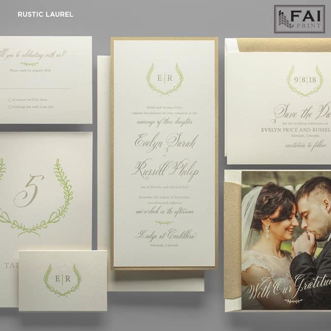 FAI Print | Rustic Laurel