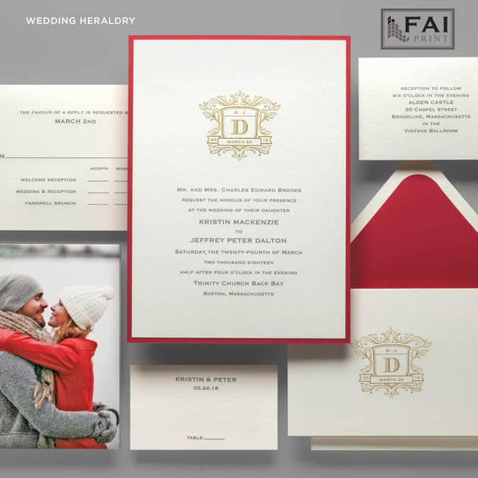 FAI Print | Wedding Heraldry