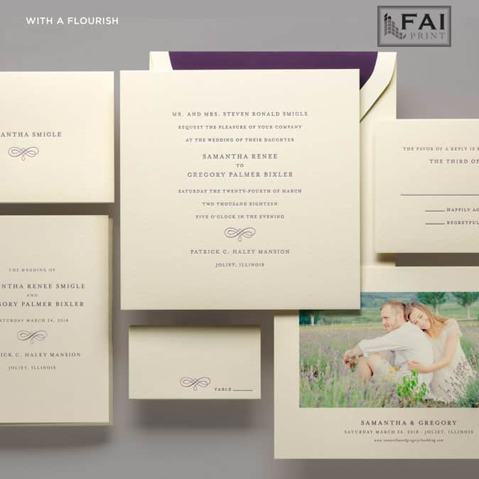 FAI Print   With A Flourish