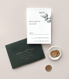 Smitten On Paper | Aimee RSVP