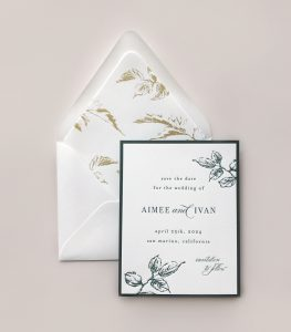 Smitten On Paper | Aimee Save The Date