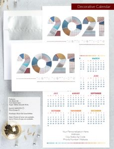 Business Holiday Collection | Decorative Calendar