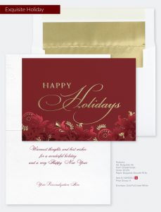 Business Holiday Collection | Exquisite Holiday