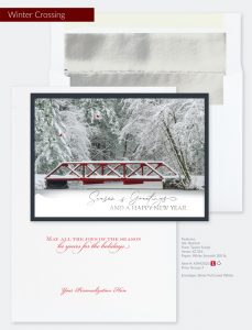 Business Holiday Collection | Winter Crossing