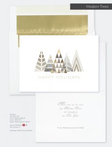 Christmas Holiday Collection | Modern Trees