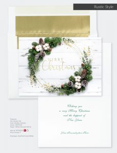 Christmas Holiday Collection | Rustic Style