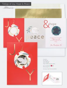 Christmas Holiday Collection | Tidings Of Joy, Hope & Peace