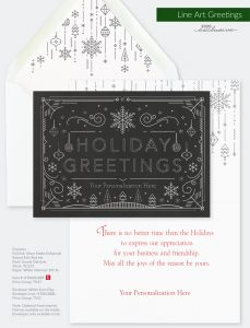 Trend Holiday Collection | Line Art Greetings