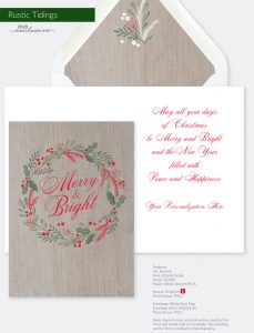 Trend Holiday Collection | Rustic Tidings