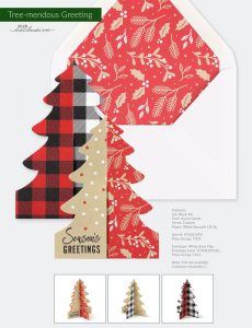 Trend Holiday Collection | Tree-mendous Greeting