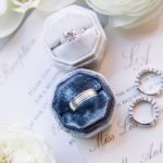 Wedding Rings on Invitation Suite