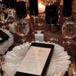 Reception Dinner Menu