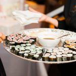 Sushi Appetizer from Kimono Restaurant, Benicia