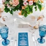 Reception Menu and Place Card