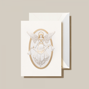 Crane | Cameo Angel Holiday Card
