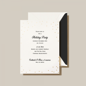 Crane | Celebration Holiday Invitation