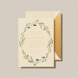 Crane | Daphne Holiday Invitation