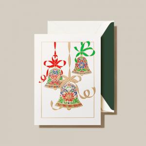 Crane | Elegant Bells Holiday Card