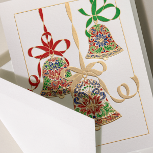 Crane | Elegant Bells Holiday Card