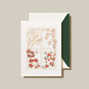 Crane | Four Seasons Holiday Card