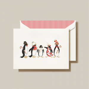 Crane | Holiday Penguins Holiday Card