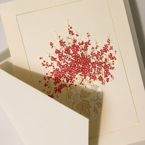 Crane | Pepperberry Vase Holiday Card