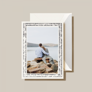 Crane | Silver Birch Photo Card
