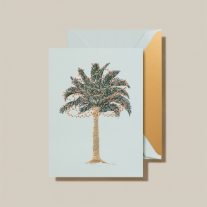 Crane | Twinkling Palms Holiday Card