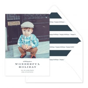 Smitten On Paper | A Wonderful Holiday