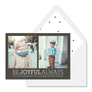 Smitten On Paper | Be Joyful Always