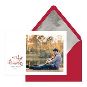 Smitten On Paper | Brushy Christmas