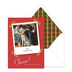 Smitten On Paper | Christmas Polaroid