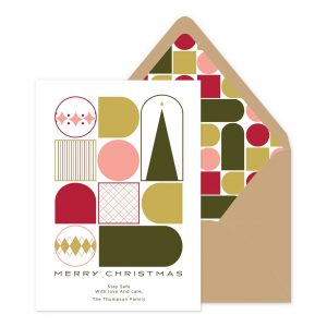 Smitten On Paper | Christmas Shapes