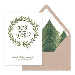Smitten On Paper | Joy to the World