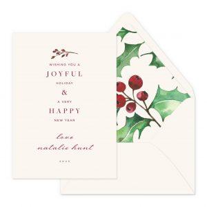 Smitten On Paper | Joyful Happy New Year
