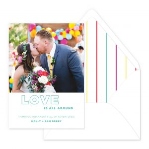 Smitten On Paper | Love Is All Around