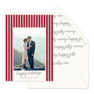 Smitten On Paper | Merry Stripes