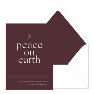 Smitten On Paper | Peace On Earth
