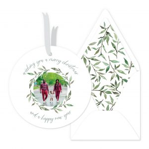 Smitten On Paper   Willow Wreath Ornament
