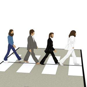 Lovepop Beatles Abbey Road 3D Pop Up Card