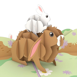 Lovepop Bunny Family 3D Pop Up Card