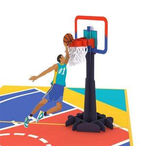 Lovepop Dad's Slam Dunk 3D Pop Up Card