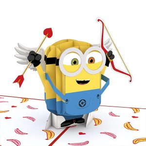 Lovepop Despicable Me Minions Bananas For You 3D Pop Up Card