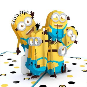 Lovepop Despicable Me You're One In a Minion 3D Pop Up Card