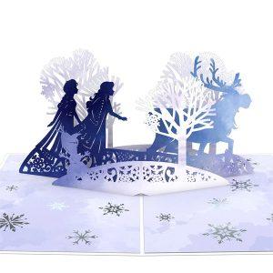 Lovepop Disney Frozen 2 Mythic Journey 3D Pop Up Card